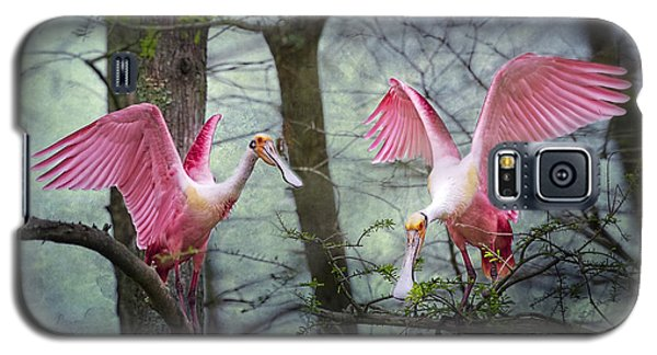 Pink Wings In The Swamp Galaxy S5 Case by Bonnie Barry