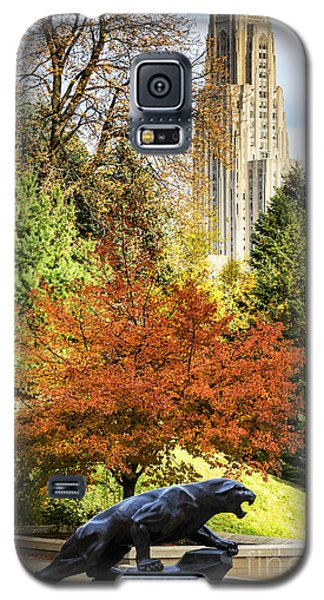 Pitt Panther And Cathedral Of Learning Galaxy S5 Case by Thomas R Fletcher