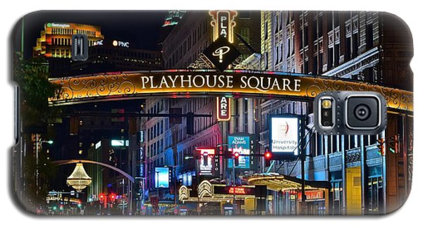 Playhouse Square Galaxy S5 Case by Frozen in Time Fine Art Photography