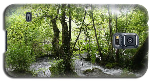 Galaxy S5 Case featuring the photograph Plitvice Lakes by Travel Pics