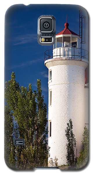 Point Betsie Lighthouse Michigan Galaxy S5 Case by Adam Romanowicz