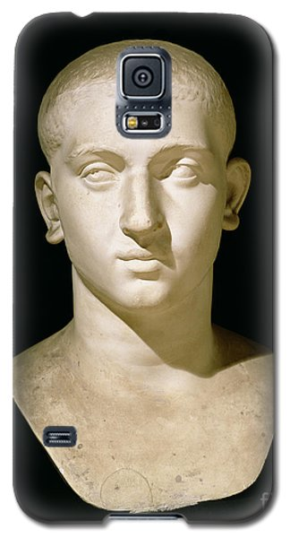 Sculptures Galaxy S5 Cases - Portrait bust of Emperor Severus Alexander Galaxy S5 Case by Anonymous