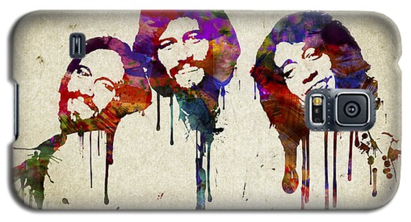Portrait Of The Bee Gees Galaxy S5 Case by Aged Pixel