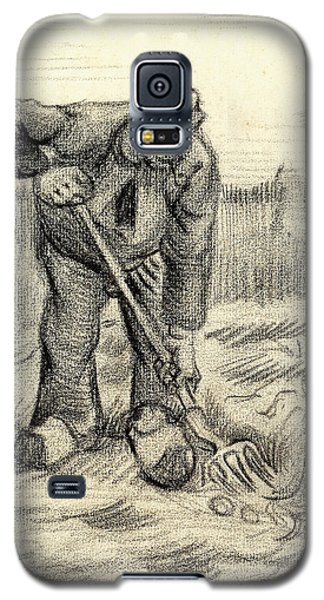 Potato Gatherer Galaxy S5 Case by Vincent Van Gogh