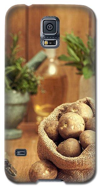 Potatoes Galaxy S5 Case by Amanda Elwell