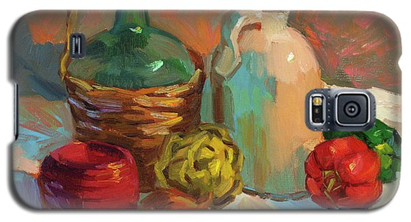Pottery And Vegetables Galaxy S5 Case by Diane McClary