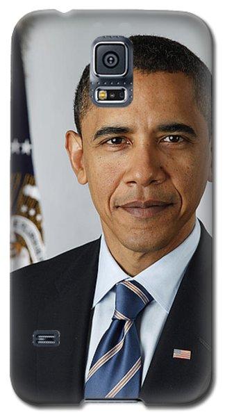 President Barack Obama Galaxy S5 Case by Pete Souza