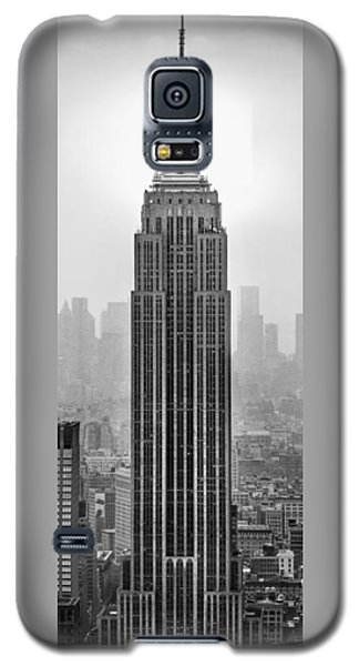 Skylines Galaxy S5 Cases - Pride Of An Empire Galaxy S5 Case by Az Jackson