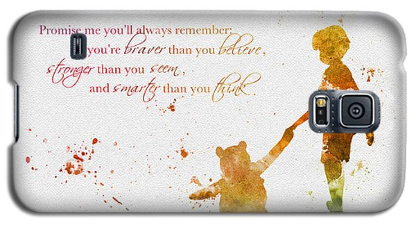 Promise Me You'll Always Remember Galaxy S5 Case by Rebecca Jenkins