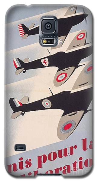 Propaganda Poster For Liberation From World War II Galaxy S5 Case by Anonymous