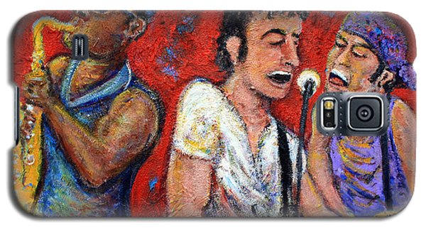 Prove It All Night Bruce Springsteen And The E Street Band Galaxy S5 Case by Jason Gluskin