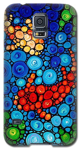 Pure Koi Joi Galaxy S5 Case by Sharon Cummings