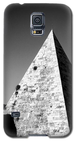 Architecture Galaxy S5 Cases - Pyramid of Cestius Galaxy S5 Case by Fabrizio Troiani