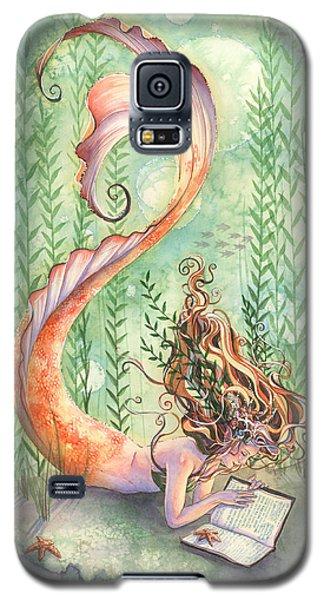Quiet Time Galaxy S5 Case by Sara Burrier