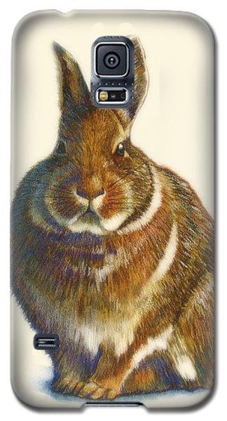 Rabbit Galaxy S5 Case by Catherine Noel