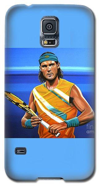 Rafael Nadal Galaxy S5 Case by Paul Meijering