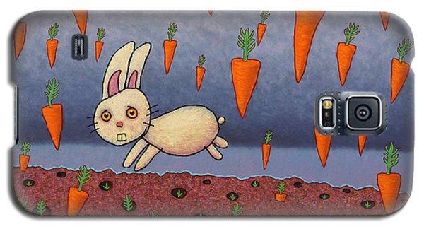Raining Carrots Galaxy S5 Case by James W Johnson