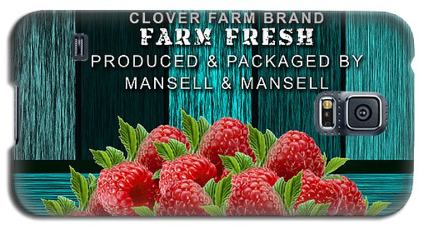 Raspberry Farm Galaxy S5 Case by Marvin Blaine