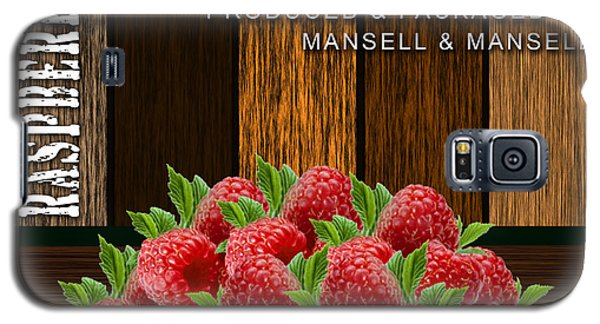 Raspberry Fields Forever Galaxy S5 Case by Marvin Blaine