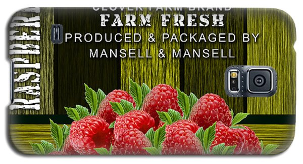 Raspberry Fields Galaxy S5 Case by Marvin Blaine