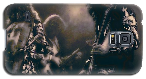 Raw Energy Of Led Zeppelin Galaxy S5 Case by Daniel Hagerman