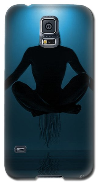 Blue Galaxy S5 Cases - Reaching Nirvana.. Galaxy S5 Case by Nina Stavlund