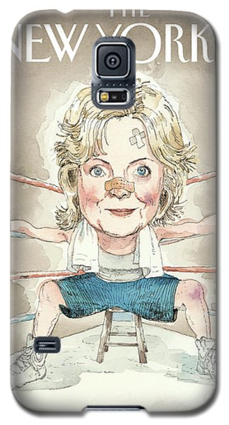 Ready For A Fight Galaxy S5 Case by Barry Blitt