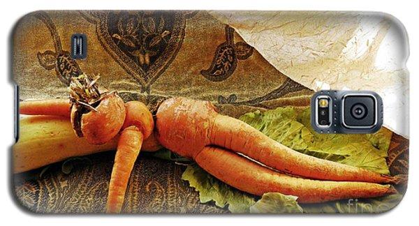 Reclining Nude Carrot Galaxy S5 Case by Sarah Loft