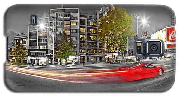 Red Lights Sydney Nights Galaxy S5 Case by Az Jackson