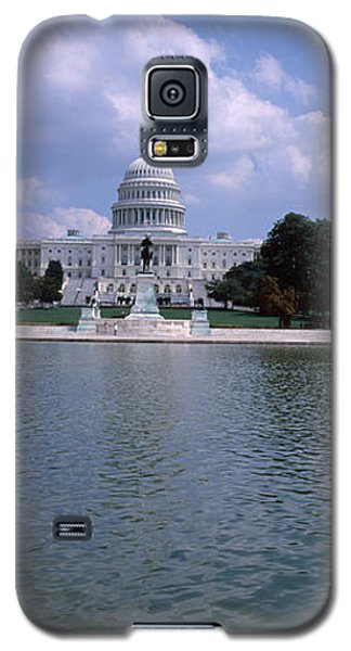 Reflecting Pool With A Government Galaxy S5 Case by Panoramic Images