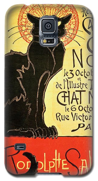 Reopening Of The Chat Noir Cabaret Galaxy S5 Case by Theophile Alexandre Steinlen