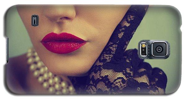 Retro Portrait Galaxy S5 Case by Jelena Jovanovic