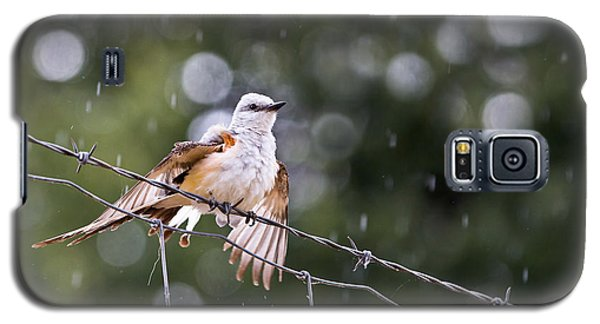 Revelling In The Rain Galaxy S5 Case by Annette Hugen