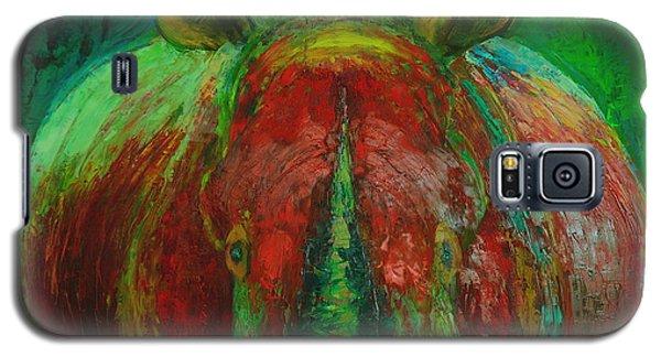 Rhinocerus Galaxy S5 Case by Magdalena Walulik