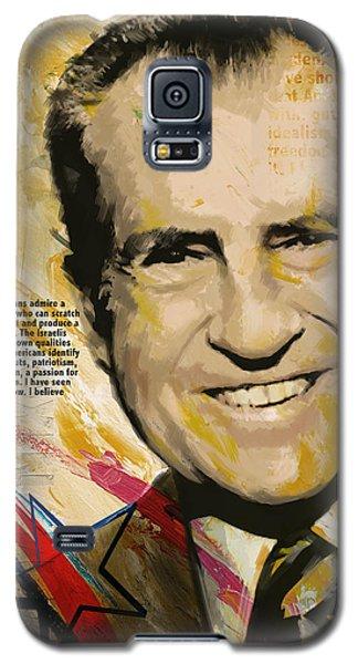 Richard Nixon Galaxy S5 Case by Corporate Art Task Force