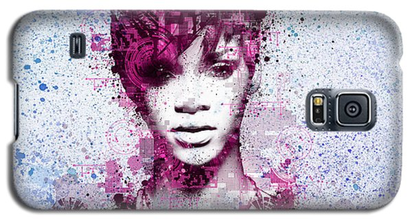 Rihanna 8 Galaxy S5 Case by Bekim Art