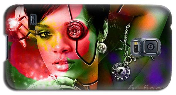 Rihanna Galaxy S5 Case by Marvin Blaine