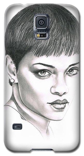 Rihanna Galaxy S5 Case by Murphy Elliott
