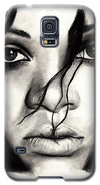 Rihanna Galaxy S5 Case by Rosalinda Markle