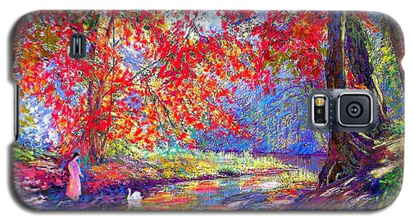 River Of Life, Colors Of Fall Galaxy S5 Case by Jane Small
