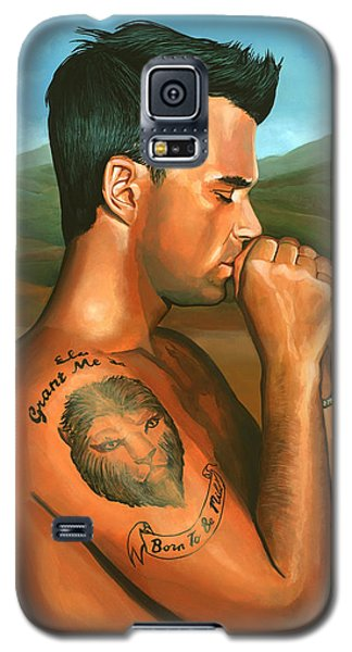 Popular Galaxy S5 Cases - Robbie Williams 2 Galaxy S5 Case by Paul  Meijering