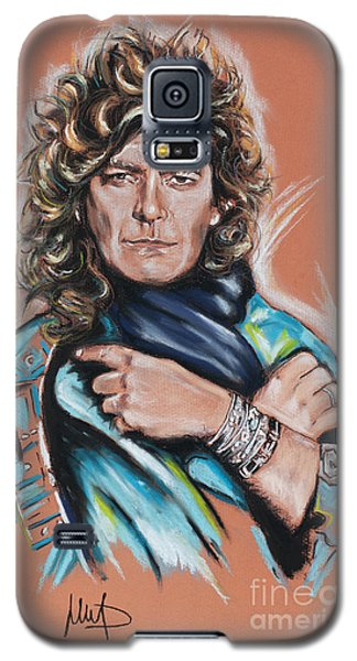 Robert Plant Galaxy S5 Case by Melanie D