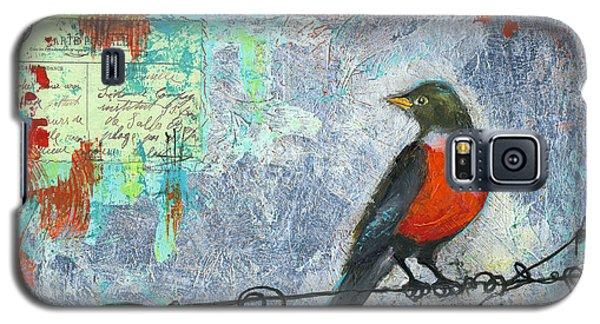 Robin Love Letter  Galaxy S5 Case by Blenda Studio