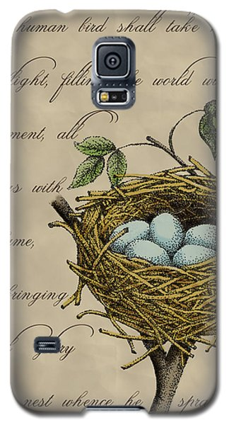 Robin's Nest Galaxy S5 Case by Christy Beckwith