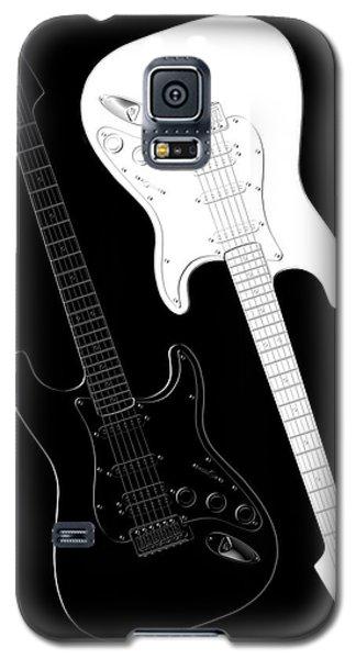 Rock And Roll Yin Yang Galaxy S5 Case by Mike McGlothlen