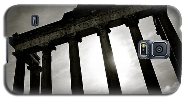 Architecture Galaxy S5 Cases - Roman Forum Galaxy S5 Case by Dave Bowman
