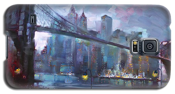 Romance By East River II Galaxy S5 Case by Ylli Haruni