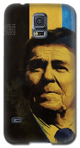 Ronald Reagan Galaxy S5 Case by Corporate Art Task Force