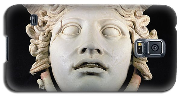 Rondanini Medusa, Copy Of A 5th Century Bc Greek Marble Original, Roman Plaster Galaxy S5 Case by .