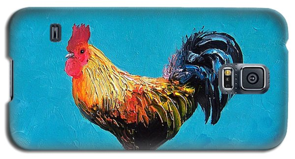 Rooster Emanuel Galaxy S5 Case by Jan Matson
